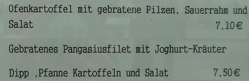 Cafe Kultur Pfanne Kartoffeln